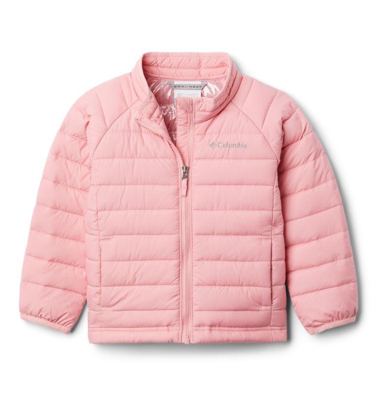 Powder Lite™ Girls Jacket | 689 | 2T Girls' Toddler Powder Lite Jacket, Pink Orchid, front