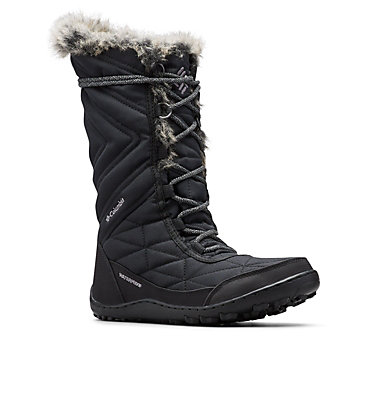 Women's Minx™ Mid III Boot MINX™ MID III | 383 | 5, Black, Ti Grey Steel, 3/4 front