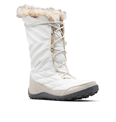 Women's Minx™ Mid III Boot MINX™ MID III | 383 | 10, Sea Salt, Dark Stone, 3/4 front