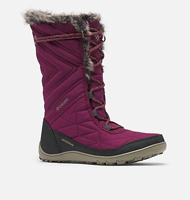 Women's Minx™ Mid III Boot MINX™ MID III | 383 | 5, Currant, Sage, 3/4 front