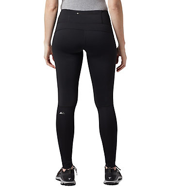 Women's Titan Wind Block™ II Tights Titan Wind Block™ II Tight | 010 | L, Black, back