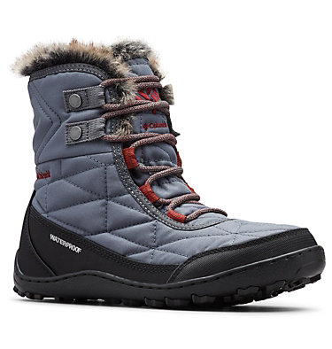 Women's Minx™ Shorty III Boot MINX™ SHORTY III | 212 | 5, Graphite, Deep Rust, 3/4 front