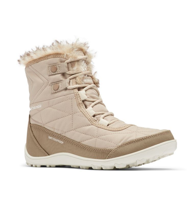 MINX™ SHORTY III | 212 | 9.5 Women's Minx™ Shorty III Boot, Oxford Tan, Fawn, 3/4 front