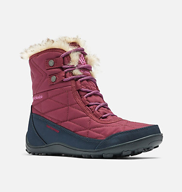 Women's Minx™ Shorty III Boot MINX™ SHORTY III | 212 | 5, Currant, Berry Jam, 3/4 front