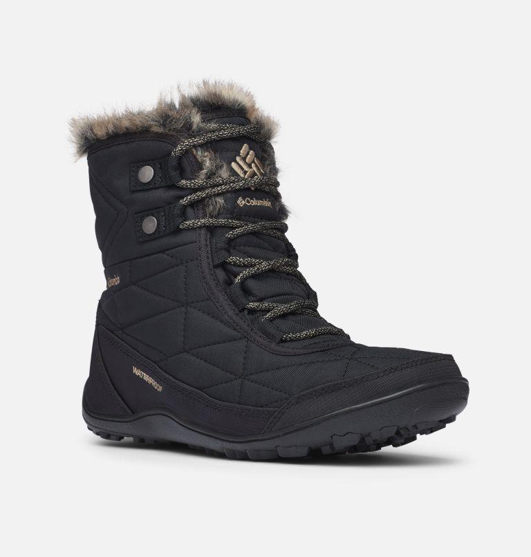 MINX™ SHORTY III WIDE | 010 | 5 Women's Minx™ Shorty III Boot - Wide, Black, Pebble, 3/4 front