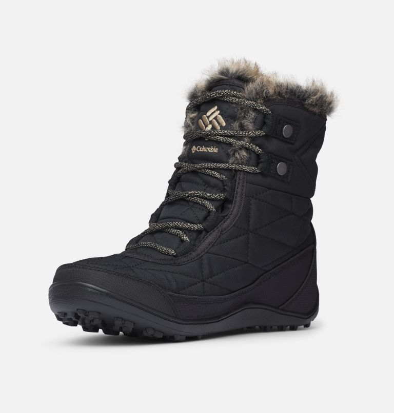 MINX™ SHORTY III WIDE | 010 | 5 Women's Minx™ Shorty III Boot - Wide, Black, Pebble