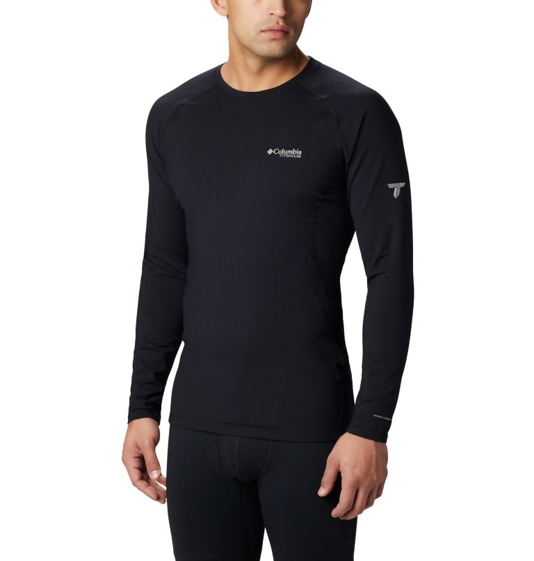Men's Titanium OH3D™ Knit Crew Top Men's Titanium OH3D™ Knit Crew Top, front