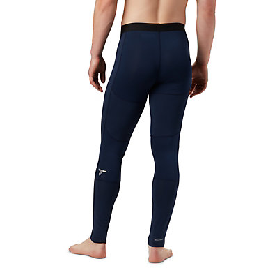 Men's Titanium OH3D™ Knit Tights Omni-Heat 3D™ Knit Tight | 464 | L, Collegiate Navy, back