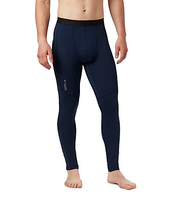Men's Titanium OH3D™ Knit Tights Omni-Heat 3D™ Knit Tight | 464 | L, Collegiate Navy, front