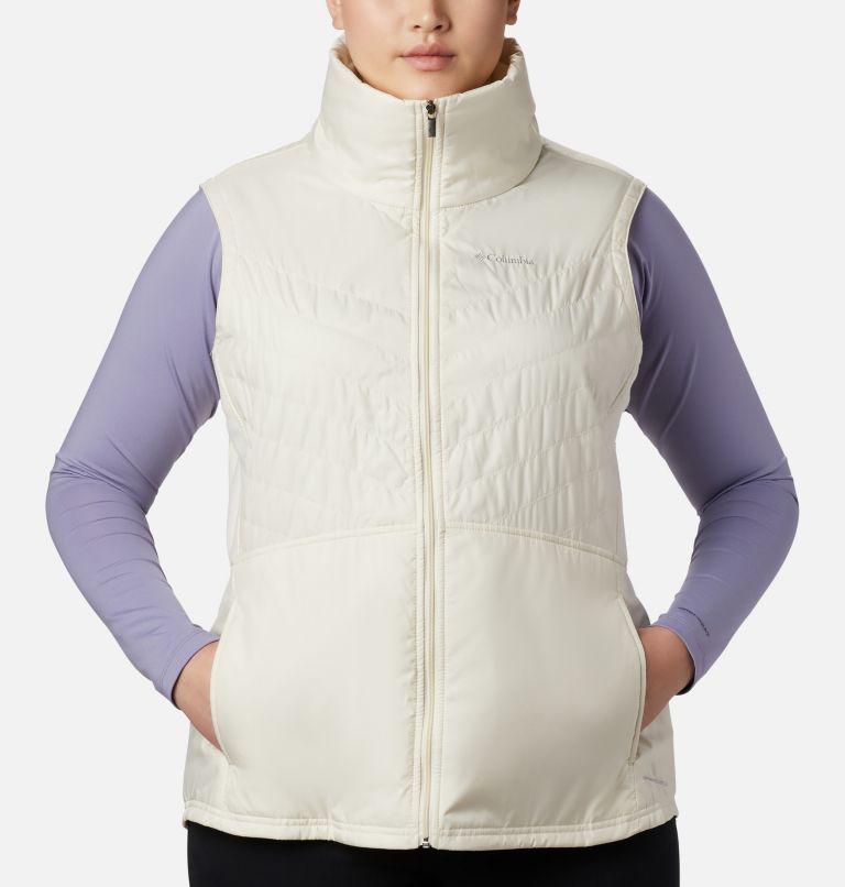 Mix It Around™ II Vest | 106 | 1X Veste Mix It Around™ II pour femme - grandes tailles, Light Bisque, a1