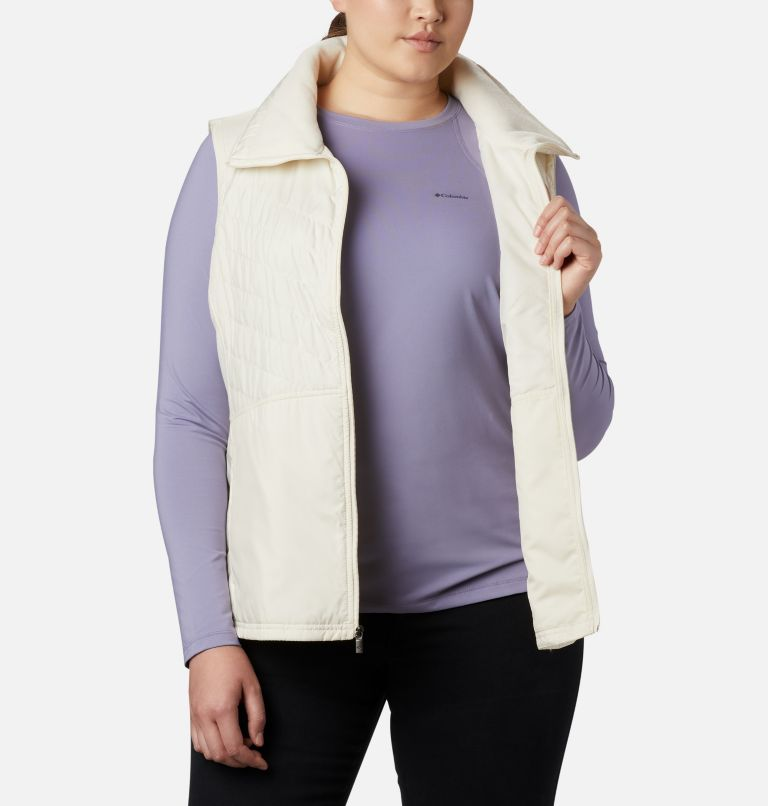 Mix It Around™ II Vest | 106 | 1X Veste Mix It Around™ II pour femme - grandes tailles, Light Bisque, a3