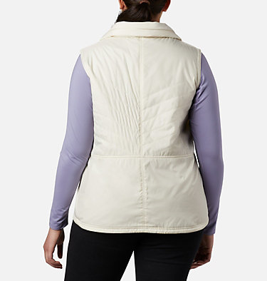 Women's Mix It Around™ II Vest - Plus Size Mix It Around™ II Vest | 618 | 1X, Light Bisque, back