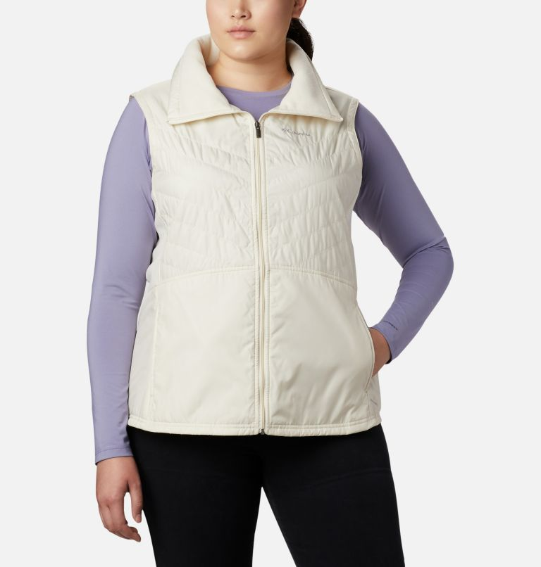 Mix It Around™ II Vest | 106 | 1X Veste Mix It Around™ II pour femme - grandes tailles, Light Bisque, front