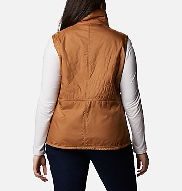 Women's Mix It Around™ II Vest - Plus Size Mix It Around™ II Vest | 671 | 1X, Elk, back