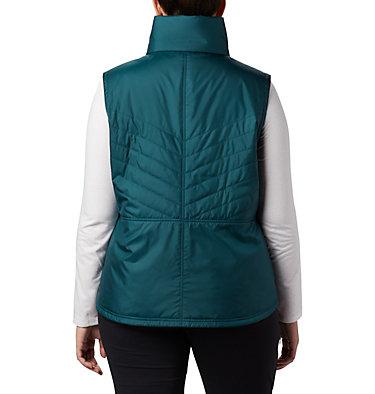 Women's Mix It Around™ II Vest - Plus Size Mix It Around™ II Vest | 671 | 1X, Dark Seas, back