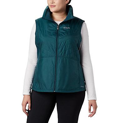 Women's Mix It Around™ II Vest - Plus Size Mix It Around™ II Vest | 671 | 1X, Dark Seas, front