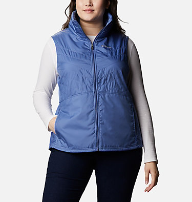 Women's Mix It Around™ II Vest - Plus Size Mix It Around™ II Vest | 618 | 1X, Velvet Cove, front
