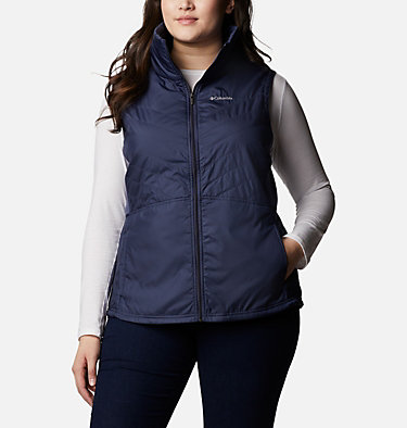 Women's Mix It Around™ II Vest - Plus Size Mix It Around™ II Vest | 618 | 1X, Nocturnal, front