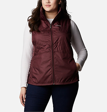 Women's Mix It Around™ II Vest - Plus Size Mix It Around™ II Vest | 671 | 1X, Malbec, front