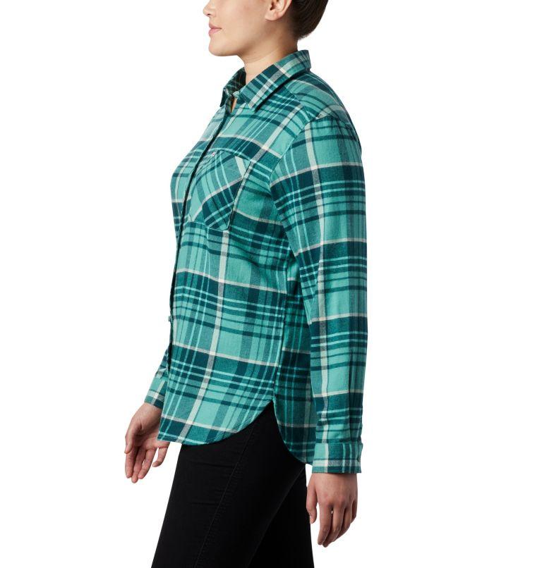 Women's Simply Put™ II Flannel Shirt - Plus Size Women's Simply Put™ II Flannel Shirt - Plus Size, a1