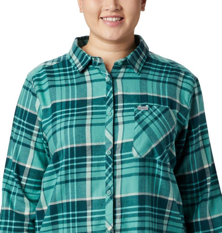 Women's Simply Put™ II Flannel Shirt - Plus Size Women's Simply Put™ II Flannel Shirt - Plus Size, a3