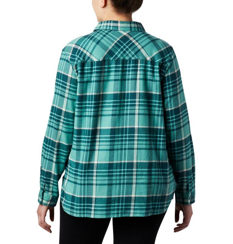 Women's Simply Put™ II Flannel Shirt - Plus Size Women's Simply Put™ II Flannel Shirt - Plus Size, back