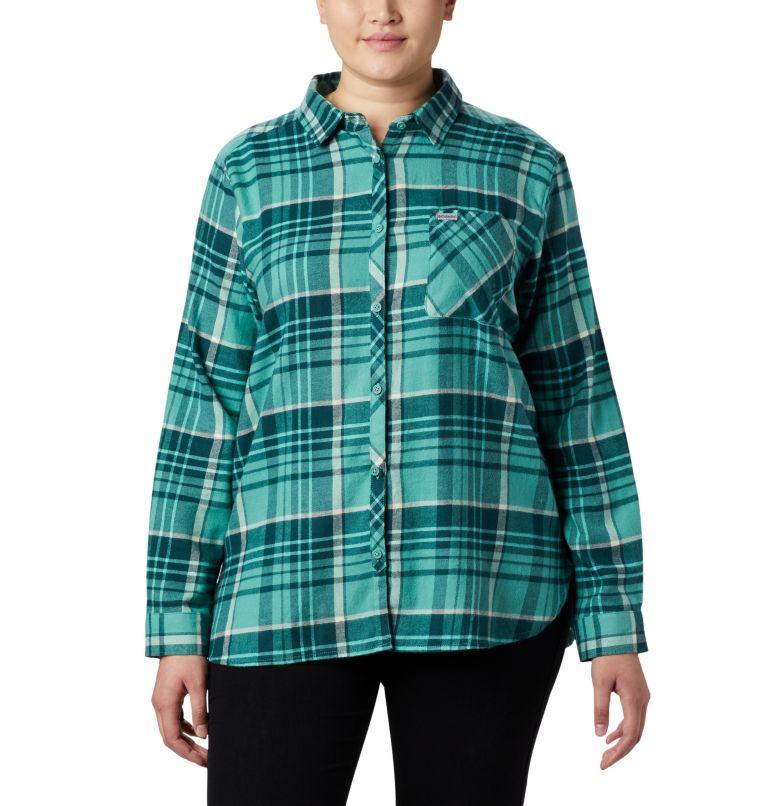 Women's Simply Put™ II Flannel Shirt - Plus Size Women's Simply Put™ II Flannel Shirt - Plus Size, front