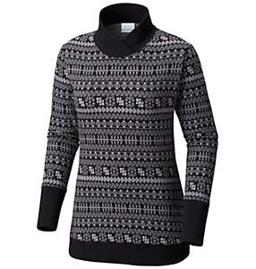 Women's Holly Peak™ Jacquard Long Sleeve Shirt - Plus Size