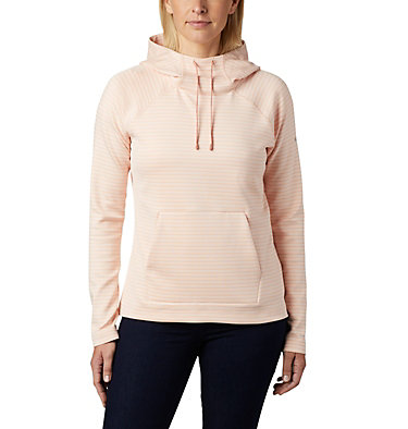 Women's Bryce Canyon™ Hoodie Bryce Canyon™ Hoodie | 556 | L, Peach Cloud Stripe, front