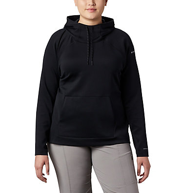 Chandail à capuchon Bryce Canyon™ pour femme – Grande taille Bryce Canyon™ Hoodie | 384 | 2X, Black, Black Heather, front
