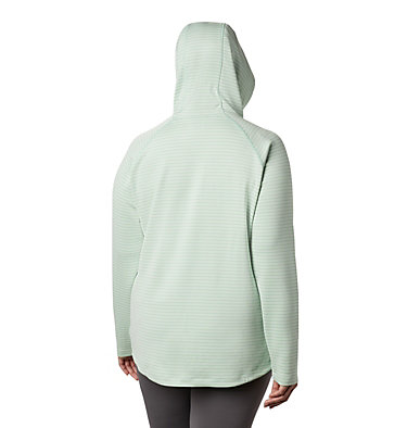 Chandail à capuchon Bryce Canyon™ pour femme – Grande taille Bryce Canyon™ Hoodie | 384 | 2X, New Mint Stripe, back