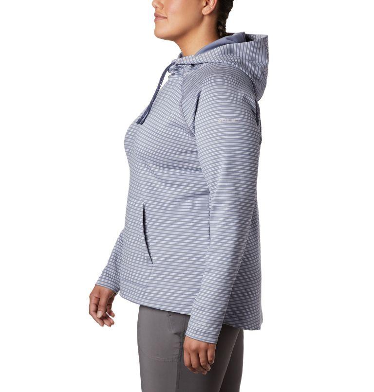 Bryce Canyon™ Hoodie | 556 | 1X Women's Bryce Canyon™ Hoodie - Plus Size, New Moon Stripe, a1