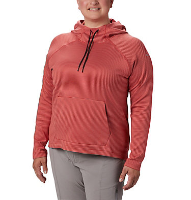 Chandail à capuchon Bryce Canyon™ pour femme – Grande taille Bryce Canyon™ Hoodie | 384 | 2X, Daredevil Stripe, front