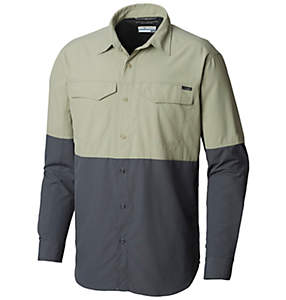 Men's Silver Ridge™ II Blocked Long Sleeve Shirt
