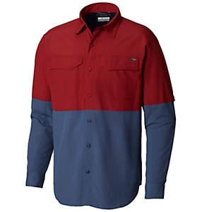 Men's Silver Ridge™ II Blocked Long Sleeve Shirt
