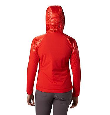 Women's Kor Strata™ Alpine Hoody Kor Strata™ Alpine Hoody | 010 | L, Fiery Red, back