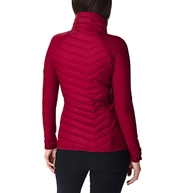 Women's Powder Lite™ Hybrid Fleece Jacket Powder Lite™ Fleece | 607 | L, Beet, back