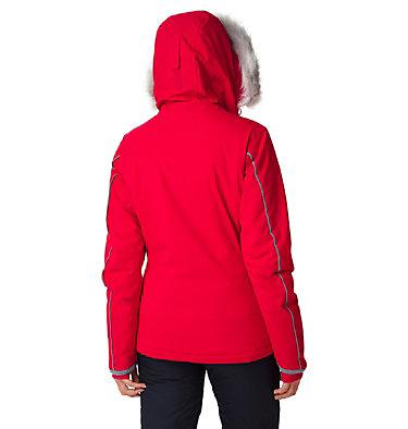 Alpine Slide™ Skijacke für Damen Alpine Slide™ Jacket | 658 | L, Red Lily, back