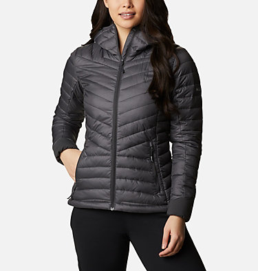Windgates™ Kapuzenjacke für Damen Windgates™ Hooded Jacket | 843 | XS, Shark Heather, front