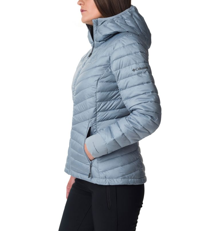 Windgates™ Hooded Jacket | 032 | XS Giacca con cappuccio Windgates™ da donna, Tradewinds Grey Heather, a1