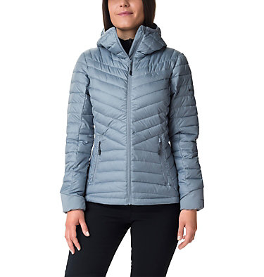 Windgates™ Kapuzenjacke für Damen Windgates™ Hooded Jacket | 843 | XS, Tradewinds Grey Heather, front