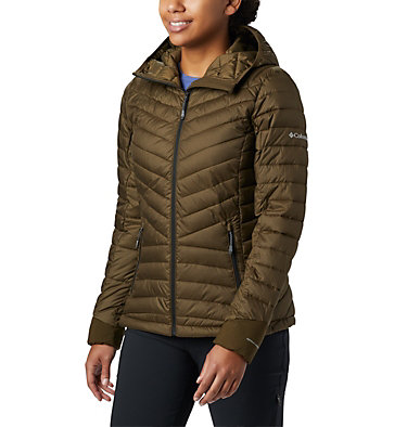Windgates™ Kapuzenjacke für Damen Windgates™ Hooded Jacket | 843 | XS, Olive Green Heather, front
