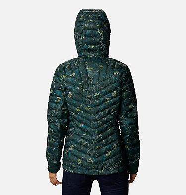 Windgates™ Kapuzenjacke für Damen Windgates™ Hooded Jacket | 843 | XS, Spruce Dotty Floral Print, back