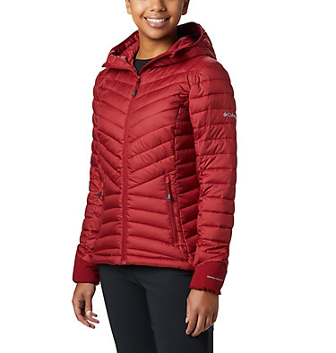 Windgates™ Kapuzenjacke für Damen Windgates™ Hooded Jacket | 843 | XS, Beet Heather, front