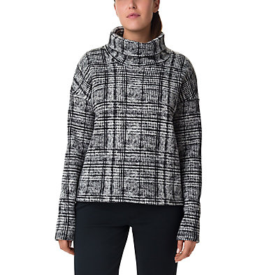 Chillin™ Fleece Pullover Chillin™ Fleece Pullover | 466 | L, Black Plaid Print, front