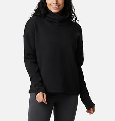 Chillin™ Fleece-Pullover für Damen Chillin™ Fleece Pullover | 010 | L, Black Thermal, front