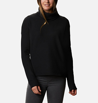 Women's Chillin™ Fleece Pullover Chillin™ Fleece Pullover | 012 | L, Black Thermal, front