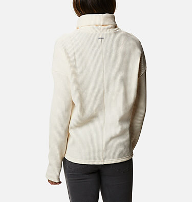 Women's Chillin™ Fleece Pullover Chillin™ Fleece Pullover | 012 | L, Chalk Thermal, back