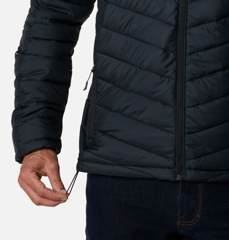 Horizon Explorer™ Hooded Jacket | 010 | L Giacca con cappuccio Horizon Explorer™ da uomo, Black, a4