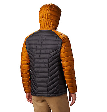 Chaqueta con capucha Horizon Explorer™ para hombre Horizon Explorer™ Hooded Jacket | 397 | S, Shark, Burnished Amber, back
